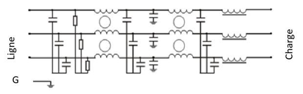 schéma filtre anti harmonique