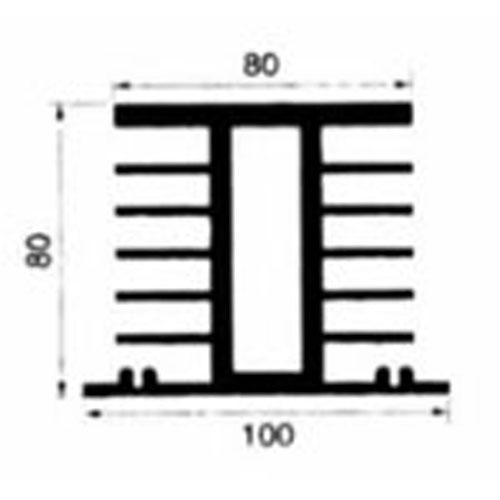 Schéma Radiateur RST_RDT_H150_5 Inoréa